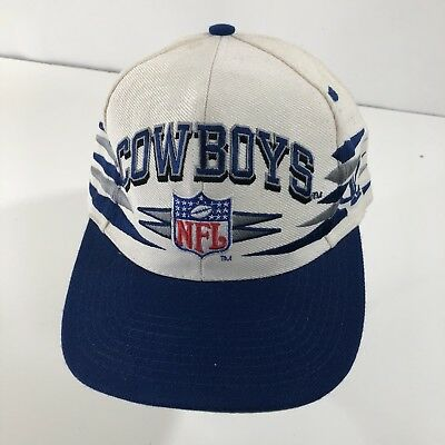 12b0b869a Vintage Pro Line Dallas Cowboys NFL Football Snapback Hat Blue Gray OSFM