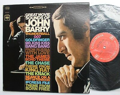 John Barry Original Columbia OST Stereo Comp LP 1966