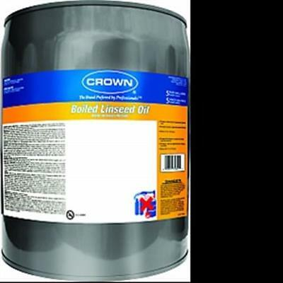 Crown Packaging BL.M.05 Boiled Linseed Oil - 5 Gallon