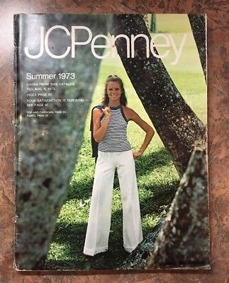 Vintage 1973 Summer JC Penney Department Store Catalog Clothing Household