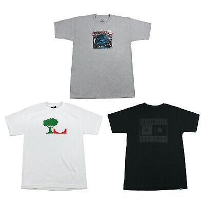 Back to School Skateboard T Shirts 3-PACK SALE Small (FOURSTAR) Black White