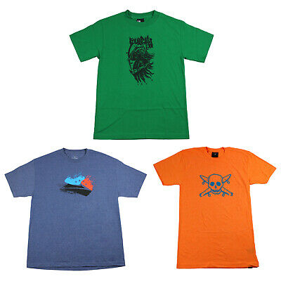 Back to School Skateboard T Shirts 3-PACK SALE Small (FOURSTAR) Multi Color
