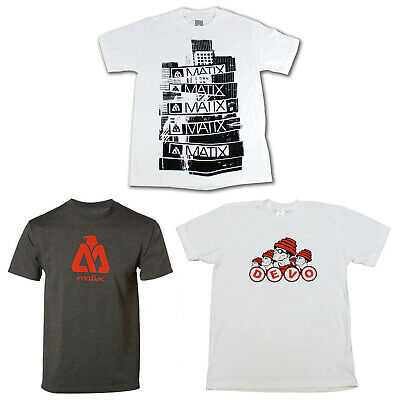 Back to School Skateboard T Shirts 3-PACK SALE Small (MATIX) Grey White