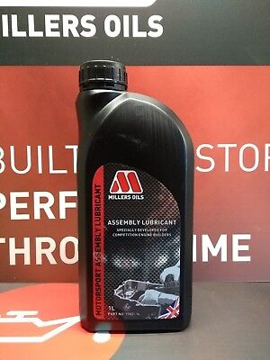 Millers Oils Competition Engine Assembly  Lubricant - 1 Litre British Made