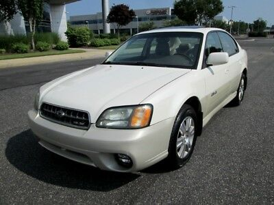 Outback H6-3.0 2004 Subaru Outback H6-3.0 Sedan Pearl White Loaded 1 Owner Rare Find Must See