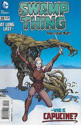 Swamp Thing #28 (NM) `14 Soule/ Pina