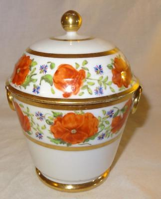 Early 19th Century French Porcelain Sucrier - Vieux Old Paris