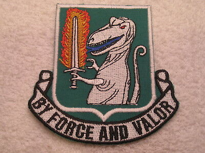US ARMY 40th ARMORED REGIMENT GERMAN MADE LATE 1900'S  MINT ORIGINAL PATCH