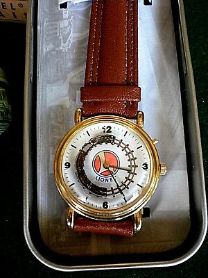 Lionel Collectible Train Watch - Motion & Real Train Sounds - Original Tin Box