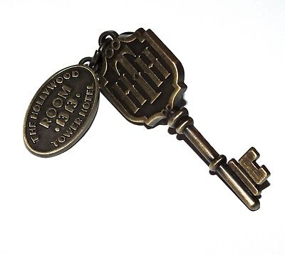 Disney Pin Trading Hollywood Tower of Terror Hotel Room Key 1313 Attraction Ride