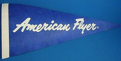 NOS American Flyer Felt Pennant Made by Lionel in 1992 Train Room Decor Display