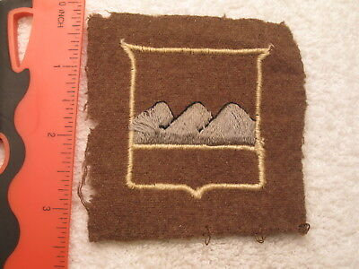 WW I US ARMY 80th INFANTRY DIVISION AUTHENTIC & ORIGINAL FANTASTIC WORN PATCH