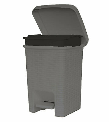 Superior Performance Brand 1.63 Gallon Step On Trash Can