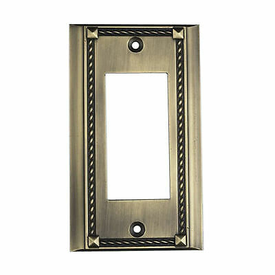 Elk Lighting Clickplates Single Large Plate in Antique Brass