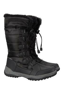 Mountain Warehouse Snowfall Womens Long Snow Boot - IsoTherm / Snowproof - DWR