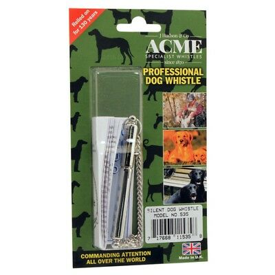 Acme Adjustable Frequency Professional Silent Dog Puppy Training Whistle 535