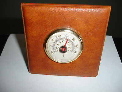 Old Fashioned Thermometer On Stand In Very Good Condition