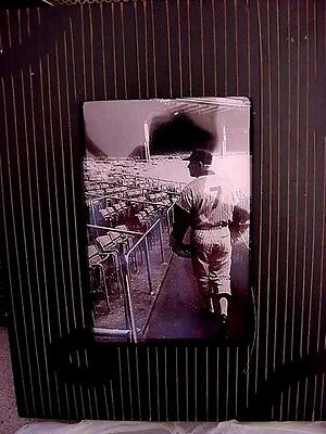 Rare  New York Yankees Mickey Mantle Walking The The Stands Framed
