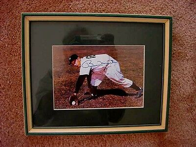 Rare  New York Yankees Billy Martin Color  Signed