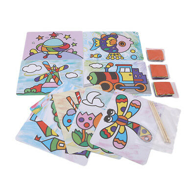 Handmade DIY Creative Paper Art Painting Drawing Toys Crafts Kids For Children Z