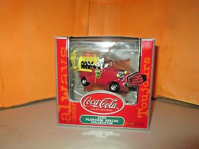 Coca Cola 2000 Platinum Series Limited Release Christmas Ornament in Box