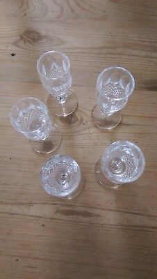 Waterford Crystal COLLEEN Liqueur Glasses