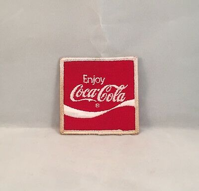 "Vintage Coca-Cola Iron On Patch Sized 2.75"" x 2.75"""