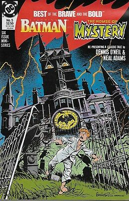 Best of Brave and the Bold No.5 1988 Batman House of Mystery O´Neil & Neal Adams