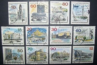 N°424 TIMBRES DEUTSCHE BUNDESPOST BERLIN OBLITERE all