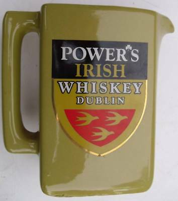 Power's Irish Whisky Water Jug