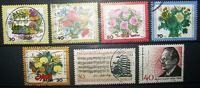 N°383 TIMBRES DEUTSCHE BUNDESPOST BERLIN OBLITERE all