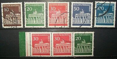 N°416 TIMBRES DEUTSCHE BUNDESPOST BERLIN OBLITERE all