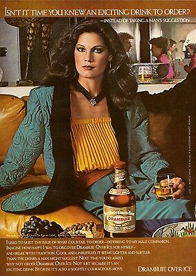 1980 Drambuie Liquor Private Label Print Ad Print Advertisement Vintage 80s