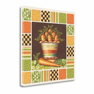 Tangletown Fine Art Carrots' Graphic Art Print on Canvas