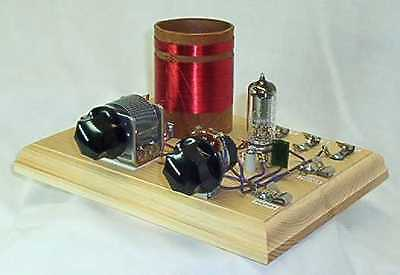 Armstrong One Tube Set Radio Kit With Earphone - Crystal Man