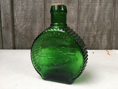 Clevenger Glass Works Bottle Bank Green Glass Joanna Furnace Hay Creek GB23