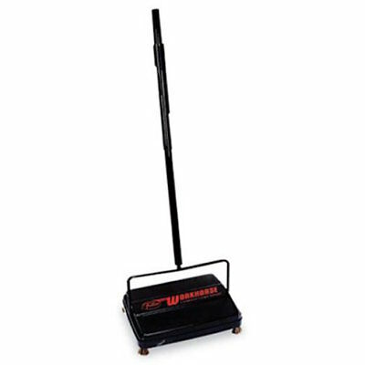"""Franklin Cleaning Tech Workhorse COMMERCIAL carpet Sweeper 46"""" Black 39357 NR"""