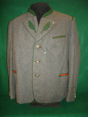 Wwii German/bavarian Trachten Jacket Coat, 1940 Dated, Size 42