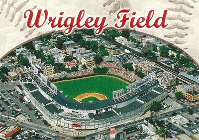 Vintage MLB Chicago Cubs Wrigley Field Baseball Stadium Postcard Billy Williams