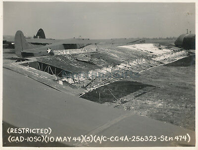 May 1944 USAAF 435th TCG 77th Troop Carrier Sq Welford Photo #5 Glider airplane