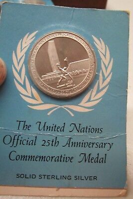 United Nation 25Th Anniversary Medal1945-1970