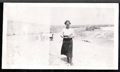 Vintage Photograph Mary Mac Ranch Girl Imperial Wildlife Refuge California Photo
