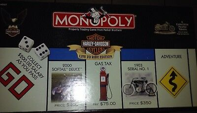 Harley Monopoly Game