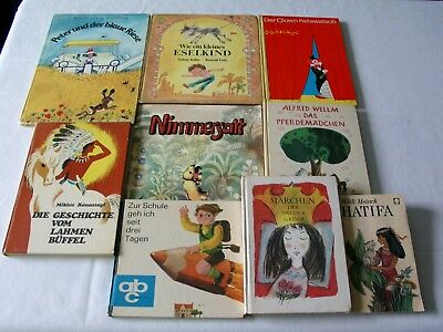 9 X DDR Kinderbücher Kinderbuch TOP