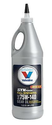 Valvoline Gear Lube High Performance 75W140 Limited Slip Additive 1 qt. Each