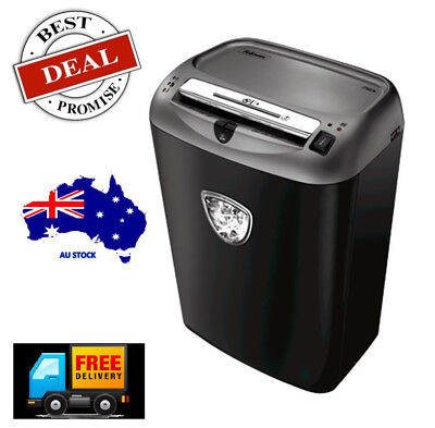 Brand New-Fellowes Powershred® 75Cs Cross-Cut SOHO Shredder UP TO 12 Sheets