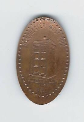 elongated Coin GB Manchester MOSI 2007, Doctor Who, Tardis, 2699