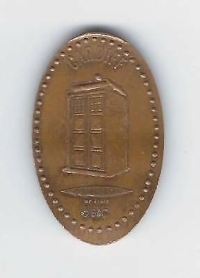 elongated Coin GB Cardiff, Doctor Who, Tardis, BBC, 2700