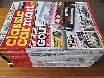 Collection 17 Classic Car Mart Magazines Lot 2011 2012 2013 2014 2015 2016 2017