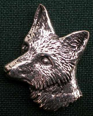 Fuchs Anstecknadel Pin A6 Fox Head